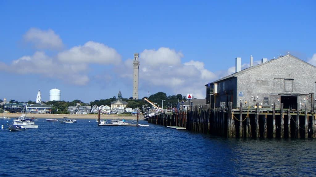 Pilgrim Monument and Pier